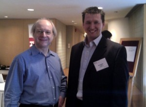 With Jakob Nielsen usability advocate (2011)