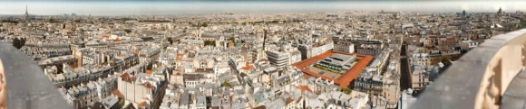 Így néz ki Párizs 26 gigapixelen távolról