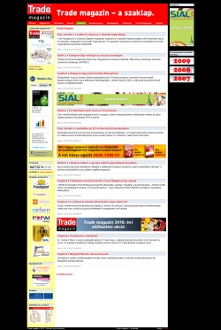 Régi trademagazin.hu - élt 2010.10.11-ig