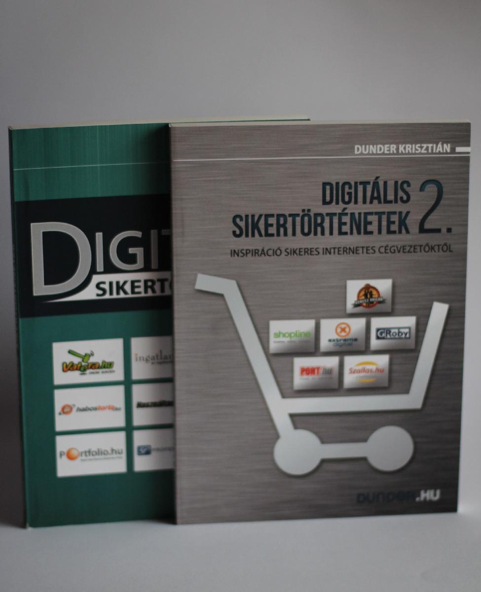Dunder Krisztián: Digitális sikertörténetek 1+2.