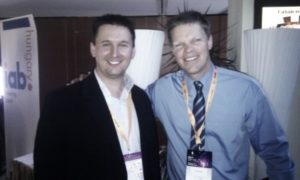 With Sean Moffitt bestseller author, social media expert (2011)